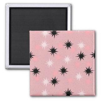 Atomic Pink Starbursts Magnet