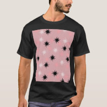 Atomic Pink Starbursts T-Shirt