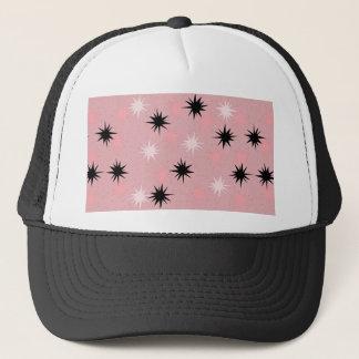 Atomic Pink Starbursts Trucker Hat