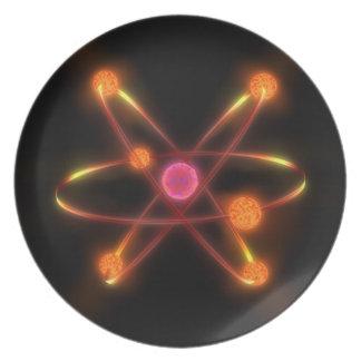 Atomic Dinner Plate