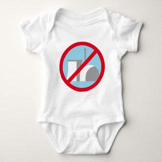 Atomic power NO thanks Baby Bodysuit