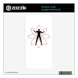 Atomic Rage Decals For The iPhone 4