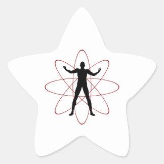 Atomic Rage Star Sticker