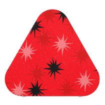 Atomic Red Starbursts Pieladium Speaker