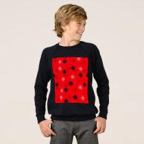 Atomic Red Starbursts Sweatshirt