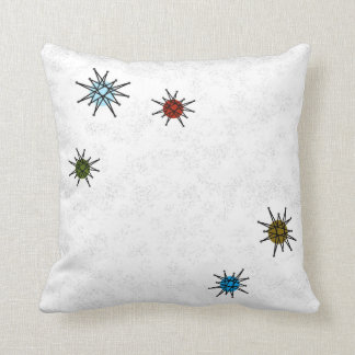 ATOMIC RETRO STARBURST PILLOW