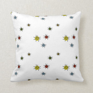 ATOMIC RETRO STARBURST PILLOW MULTI