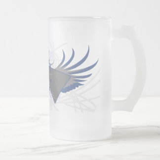 Atomic Rev Frosted Glass Mug