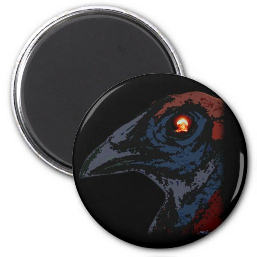 Atomic Rooster 2 Inch Round Magnet