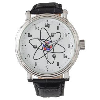 Atomic Science / Chemistry Wristwatch