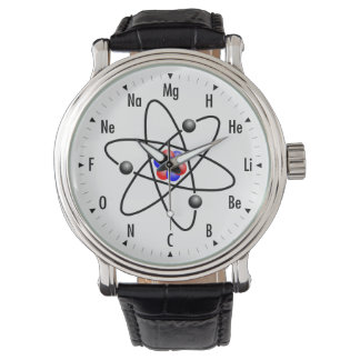 Atomic Science / Chemistry Wristwatches