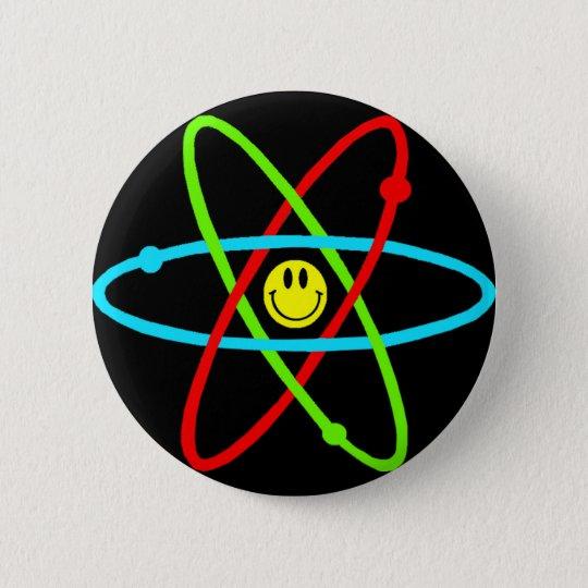 Atomic Smiley Button