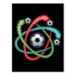 Atomic Soccer Post Card