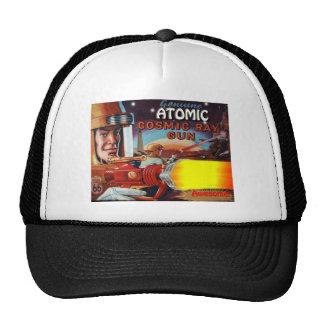 atomic space man ray gun mesh hat