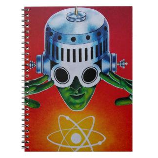 ATOMIC SPACEMAN SPIRAL NOTEBOOK