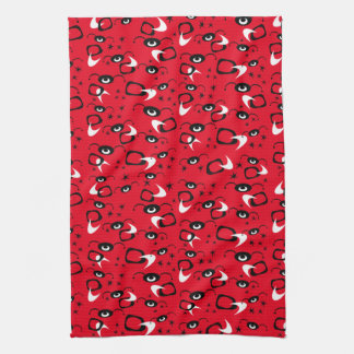 Atomic Spiders Kitchen Towels