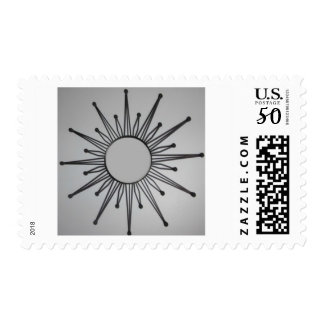 Atomic star Postage stamp