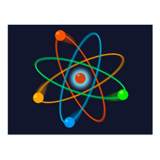 Atomic Structure 2 Postcard
