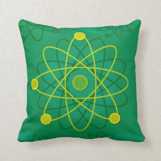 Atomic Structure Graphic Throw Pillow