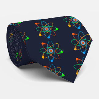 Atomic Structure Neck Tie