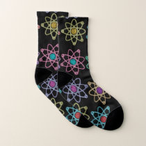 Atomic Structure Pattern Socks