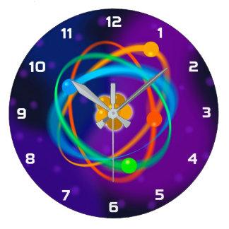 Atomic Structure Spots Large Clock