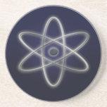 Atomic Symbol Beverage Coasters