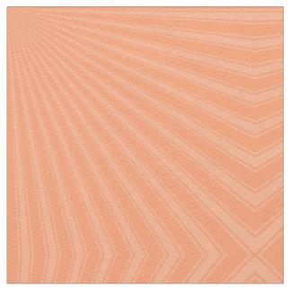 Atomic tangerine Color Stripe Funky Pattern Fabric