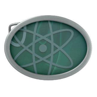 Atomic Teal Belt Buckle