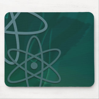 Atomic Teal Mouse Pad