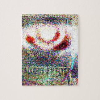 Atomic third eye puzzle