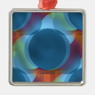 Atomic Tonic Metal Ornament