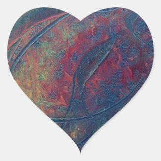 Atomic Tsunami Heart Sticker