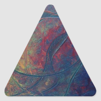 Atomic Tsunami Triangle Sticker