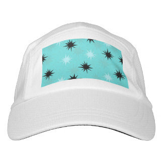 Atomic Turquoise Starbursts Trucker Hat