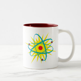 Atomic! Two-Tone Coffee Mug
