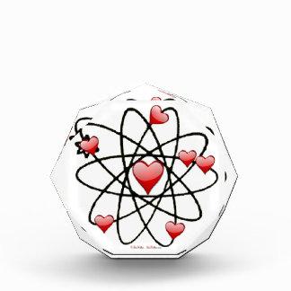 Atomic Valentine Red Hearts Award
