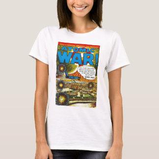 Atomic War Comic Cover Art T-Shirt