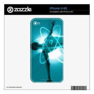 Atomic Woman iPhone 4 Decal