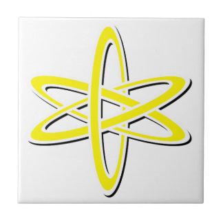Atomic Yellow Ceramic Tile