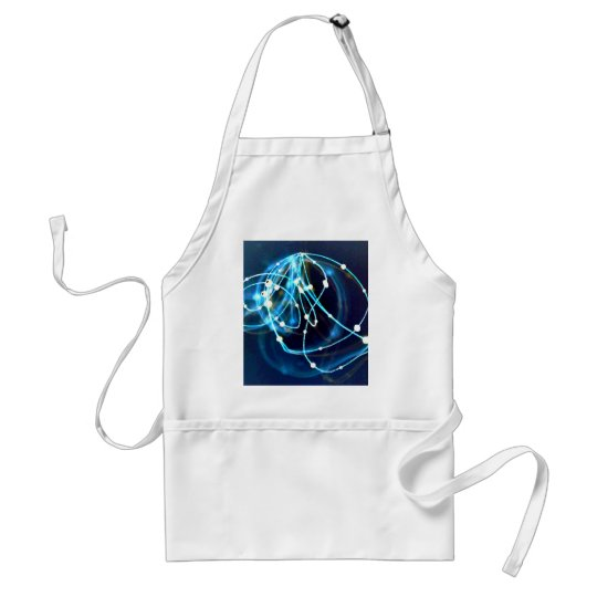 Atomicity 3 Abstract CricketDiane Art Adult Apron