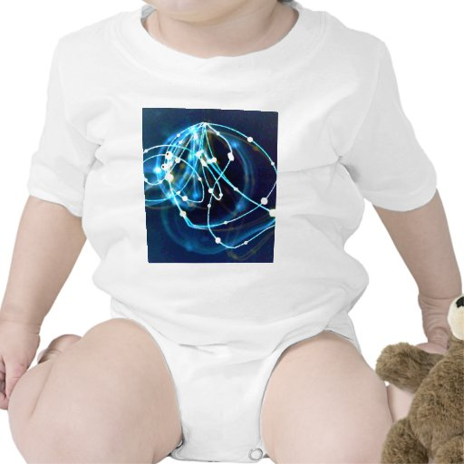 Atomicity 3 Abstract CricketDiane Art Baby Bodysuit