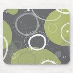 Atómico en Mousepad verde oliva