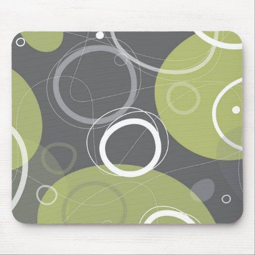 Atómico en Mousepad verde oliva Tapetes De Ratones