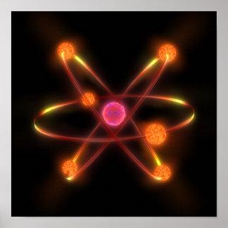Atómico Póster