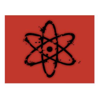 ¡Atomics nuclear! Postales