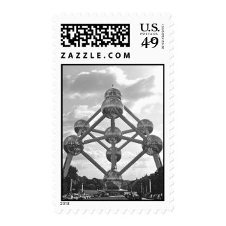 Atomium - 1958 Worlds Fair Brussels Postage Stamps