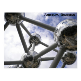 Atomium, Bruselas Tarjetas Postales
