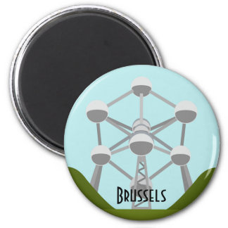 Atomium in Brussels Magnet