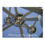 Atomium, postal de Bruselas, Bélgica